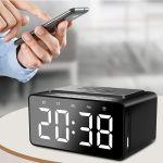 Dover Alarm Clock Wireless Charger Speaker