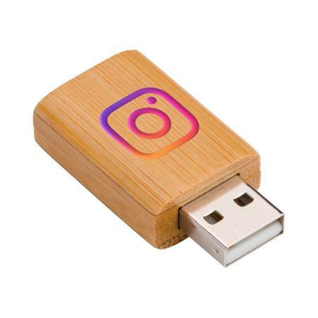 USB Data Blocker Wood