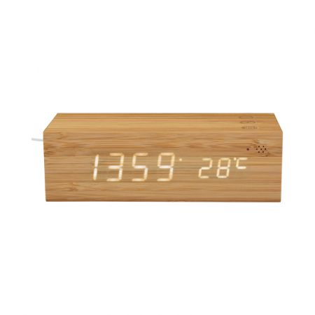 Madison Fast Wireless Charge Clock